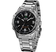 WEIDE® Men's Watch Dress Watch LED Chronograph Calendar Water Resistant Wrist Watch Cool Watch Unique Watch
