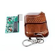 2262/2272 4-way set telecomando senza fili non M4 bloccare la ricezione piatto w / 4 tasti del telecomando