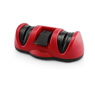 Dual-headed Kitchen Suction Cup Ceramic Knife Sharpener