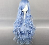 cheap -Cosplay Wigs Date A Live Yoshino Anime Cosplay Wigs 90 CM Heat Resistant Fiber Women's