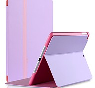 cheap -Case For iPad Air with Stand Full Body Cases Solid Color PU Leather for iPad Air