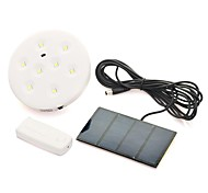 cheap -1pc Decoration Light Solar Battery Remote Controlled Rechargeable Waterproof