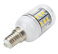 abordables -300-400 lm E14 Focos LED Bombillas LED de Mazorca Bombillas LED de Globo T 27 leds SMD 5730 Blanco Cálido AC 220-240V