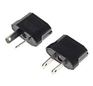нам с сокетами для АС Подключите адаптер переменного тока вилку + Au разъем для нас подключите адаптер переменного тока вилку (2 шт)