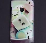 Cartoon Design Lovely Expression Pattern Hard Case for Nokia N520