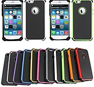 cheap -BEBONCOOL Executive Armor Defender High Impact Combo Hard Soft Gel Cover for iPhone 6(Assorted Color)