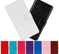 Horse Grain PU Leather Full Body Case with Stand And Card Slot for Huawei Ascend P7 mini