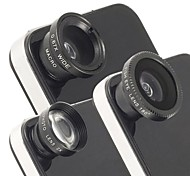 cheap -Universal Magnetic 2X Telephoto Lens,Fisheye Lens and Wide Angle Macro Lens for iPhone and Others