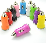 cheap -Colorful USB Car Charger for iphone 8 7 Samsung S8 S7 (5V,1A)