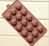 Недорогие -5 отверстий форма Сянь-бай ожог торт льда желе шоколадные формы, силиконовые 21,5 × 10,5 × 1,8 см (8,5 × 4,1 × 0,7 дюйма)