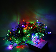 10m 100 LED di Natale di Halloween luci decorative di festa striscia luci-ordinario luci stringa rgb (220v)