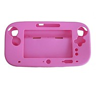 cheap -Soft Silicone Full Protection Gel Case Cover Sleeve for Nintendo Wii U Gamepad