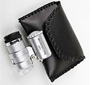 Недорогие -6 * 5 * 3 см 45 регулируется во главе световой микроскоп