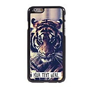 cheap -Personalized Case Tiger Design Metal Case for iPhone 6 Plus
