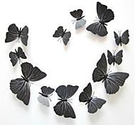 Недорогие -Пейзаж Животные Романтика Праздник 3D Наклейки 3D наклейки Декоративные наклейки на стены Наклейки на холодильник Свадебные наклейки,