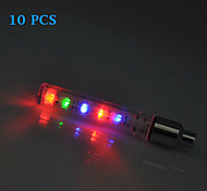 Bike Light , Wheel Lights / Valve Cap Flashing Lights / Wholesale / Bike Lights - 4 or more Mode Lumens Alarm / Backlight Button Battery