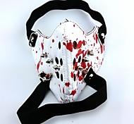 baratos -Máscara Inspirado por Tokyo Ghoul Fantasias Anime Acessórios de Cosplay Máscara Branco Pele PU Masculino