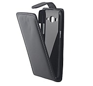 For Samsung Galaxy Case Flip Case Full Body Case Solid Color PU Leather Samsung Grand 2