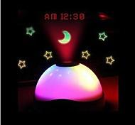 Недорогие -Небесный проектор NightLight Датчик Водонепроницаемый Батарея Акрил 1 лампа Батарейки не входят в комплект 10.0*10.0*6.5cm