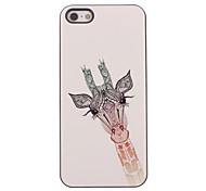 Lovely Giraffe Design Aluminium Hard Case for iPhone 4/4S iPhone Cases