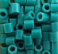 около 500 шт / мешок 5мм озера синие предохранителей бусины Hama бисер DIY головоломки Ева материал Сафти для детей ремесла