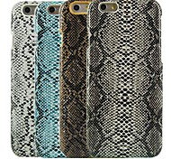cheap -Snake Skin Design Pattern Hard Cover for iPhone 6 Plus (Assorted Colors)