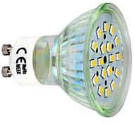 GU10 Lâmpadas de Foco de LED 18 SMD 2835 260 lm Branco Quente 3000 K AC 220-240 V