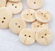 дерево шаблон альбом scraft швейные DIY Деревянные кнопки (10 шт)