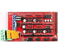 Недорогие -robotale пандусы 1.4 RepRap mendelprusa управления 3D-принтер доска - красный + черный
