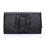 Fashion Plaid Stria Back Splint PU Waist Bag for iPhone 6 iPhone Cases
