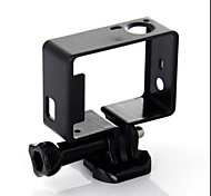 cheap -Smooth Frame Mount / Holder For Action Camera Gopro 3 Gopro 3+ PVC