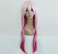 cheap -Cosplay Wigs Guilty Crown Inori Yuzuriha Anime Cosplay Wigs 65 CM Heat Resistant Fiber Women's