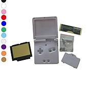 Недорогие -полная замена крышки случая жилья оболочка для Nintendo GBA SP Gameboy Advance SP