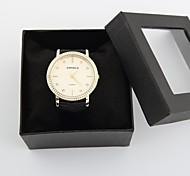 Недорогие -Персональный подарок Часы, Аналоговый Кварцевый Часы With сплав Материал корпуса сплав Группа Модные часы Глубина сопротивления воды