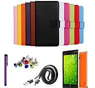 cheap -Case For Nokia Nokia Lumia 930 Nokia Case Card Holder Wallet with Stand Full Body Cases Solid Color Hard PU Leather for
