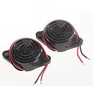 high-decibel alarm SFM-27 DC3-24V Continuous buzzer speaker voice ringers(2pcs)