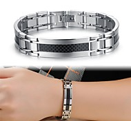 Cool Man Texture Titanium Steel Bracelet Jewelry Christmas Gifts
