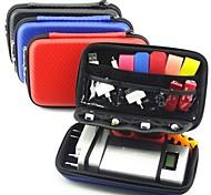 lacdo® caso bolsa de protecção duro para 2,5 polegadas wd Seagate de 1TB 2TB toshiba usb 3.0 cartão de memória SD externo disco rígido