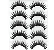baratos -Pestana Volumizado Natural Grossa Maquiagem de Festa Maquiagem para o Dia A Dia Grossa Comprimento Natural Acessórios para Maquiagem Alta