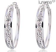 cheap -Women's Hoop Earrings Crystal Imitation Diamond Alloy Circle Jewelry Party Daily Costume Jewelry