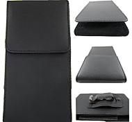 Недорогие -личи линии пу кожаный чехол с талии клипа для Iphone 5 / 5S / 5с