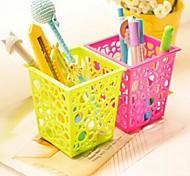 baratos -caixas de armazenamento quadrado criativas multifuncionais (cor aleatória)