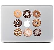 Недорогие -печенье дизайн Декоративные наклейки кожи для MacBook Air / Pro / Pro с сетчатки дисплей