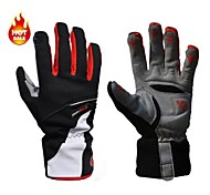 WEST BIKING® Sports Gloves Men's Cycling Gloves Autumn/Fall / Winter Bike GlovesKeep Warm / Anti-skidding / Waterproof / Breathable /