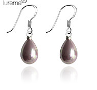 cheap -Women's Pearl Sterling Silver Imitation Pearl Drop Earrings - Pink Earrings For Daily