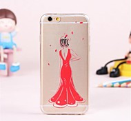 cheap -Personality Pattern TPU Soft Cover for iPhone 6