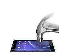 película protectora de pantalla de cristal templado de alta calidad para Sony Xperia t3