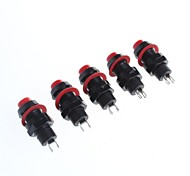 cheap -Self-Locking Button Switch(5Pcs)