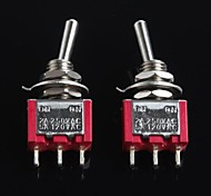 cheap -Toggle Switches(2Pcs)