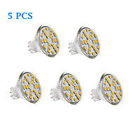 cheap -200-250 lm GU4(MR11) LED Filament Bulbs 24 leds SMD 2835 Warm White Cold White AC 12V